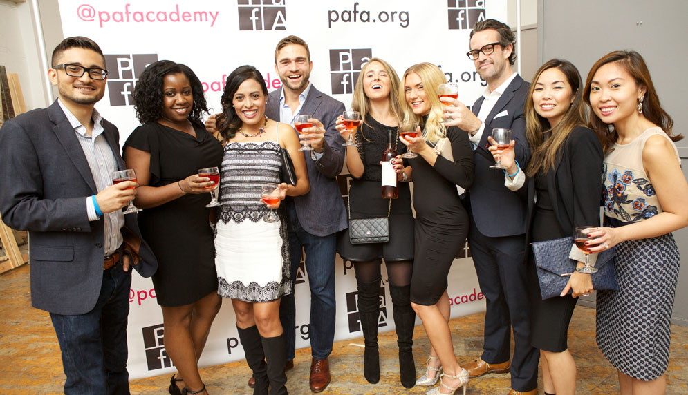 Young Friends of PAFA at Uncorked 2016